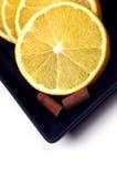 Food - Orange and Cinnamon Stock Photo
