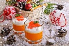 The food is orange Stock Photo