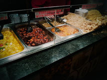 Food oriental vegetable chinese takeaway noodle teriyaki chicken chili rice. Food oriental vegetable chinese takeaway noodle teriyaki chicken chili Royalty Free Stock Images
