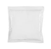 Food packaging. Blank white product packaging on white bacground Royalty Free Stock Photos