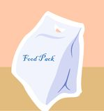 Food packet Royalty Free Stock Photos