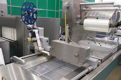Food packing industry equipment Stock Photos