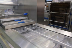 Food packing industry equipment Stock Photography
