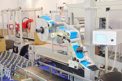 Food packing machine. The image of food packing machine Stock Photos