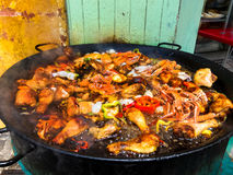 Food. Paella. Spanish food. Holiday. Stock Photography