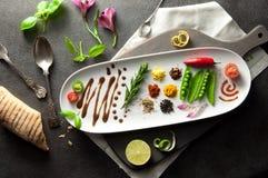 Food palette Stock Image