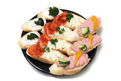 Food from party Stock Image