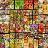 Food pattern Royalty Free Stock Images
