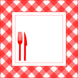 Food pattern Stock Images