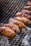 A juicy barbecued cuisine. A food photo of barbecued or grilled cuisine royalty free stock photography