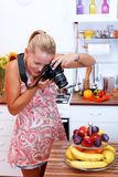 Food photographer Stock Photo