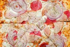 Food photography art italian pizza background. Food photography art. pizza background. copyspace concept. traditional italian food Stock Photography