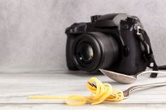 Food photography concept royalty free stock photo