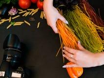 Food photography photo studio stylist art blog Stock Photos