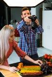 Food photography teamwork studio photographer Stock Image