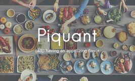 Food Piquant Delicious Cuisine Appetizing Concept Royalty Free Stock Images