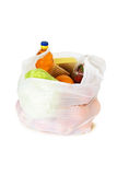 Food in a plastic bag Stock Photos