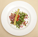 Food plate Stock Photography