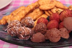 Food Platter Stock Image