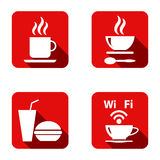 Food Platter Icon Symbol Vector Stock Photography