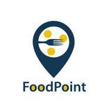 Food point icon Royalty Free Stock Photos