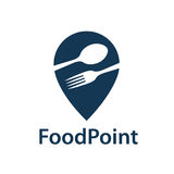 Food point icon Royalty Free Stock Images