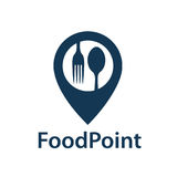 Food point icon Stock Photo
