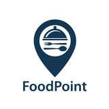 Food point icon Stock Image
