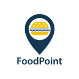 Food point icon Stock Images