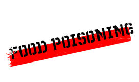 Food Poisoning rubber stamp Stock Photos