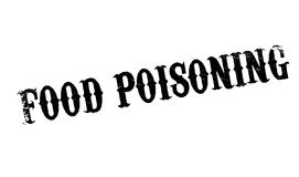 Food Poisoning rubber stamp Stock Photography