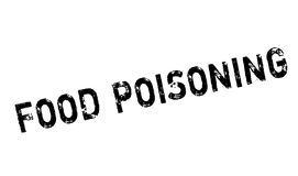 Food Poisoning rubber stamp Royalty Free Stock Image