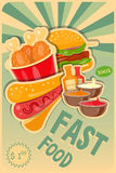 Food poster Royalty Free Stock Photo