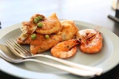 Food, Prawns, Fish, Lunch