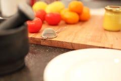 Food preparation background Stock Image