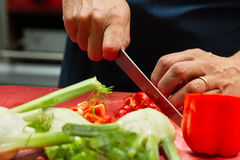 Food preparation Royalty Free Stock Photo