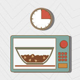 Food preparation instructions design. Illustration eps10 graphic Royalty Free Stock Photography