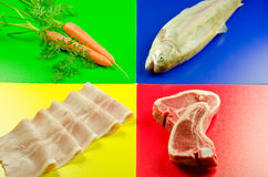 Food preparation safety Royalty Free Stock Photography