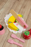 Food Preparation Toy Set Stock Images