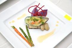 Food Presentation Royalty Free Stock Photography