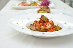 Food Presentation Royalty Free Stock Photos