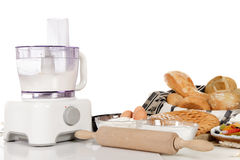 Food processor, bakery  pastry products Stock Photos
