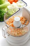 Food processor image. Royalty Free Stock Photo