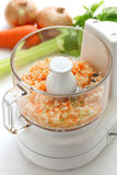 Food processor image. Royalty Free Stock Photos