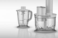 Food processor on a light background Stock Image