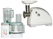 Food processor and meat grinder Stock Image