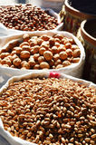 Food products on the street market Royalty Free Stock Photos