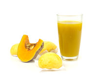 Food from pumpkin Stock Photography