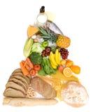 Food pyramid Royalty Free Stock Image