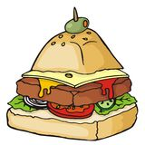 Food pyramid Stock Image